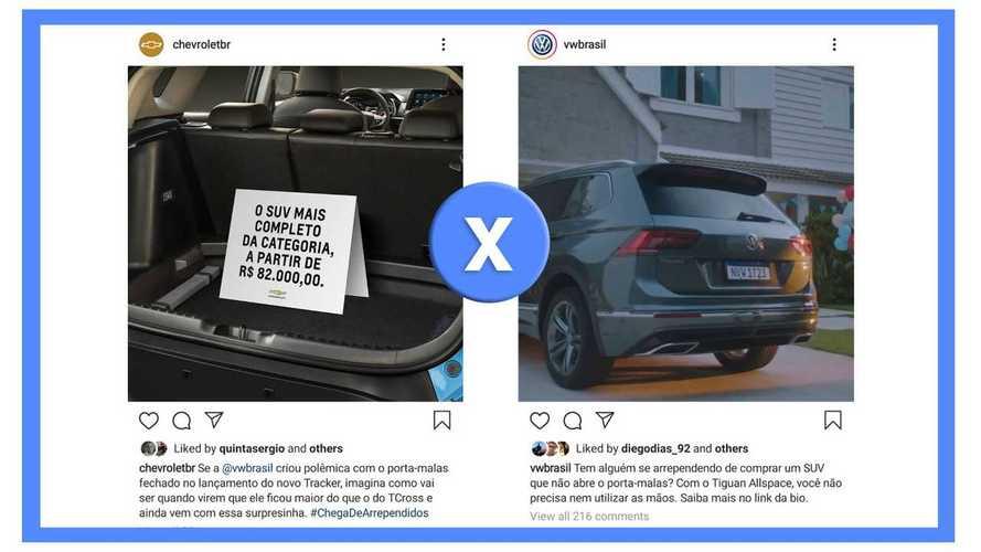 Novo Tracker: Chevrolet responde VW e segue briga pelas redes sociais