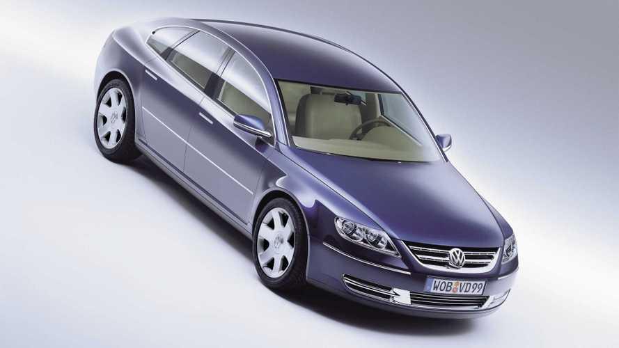 Íme az 1999-es Volkswagen Concept D, azaz hogyan indult a VW Phaeton története?