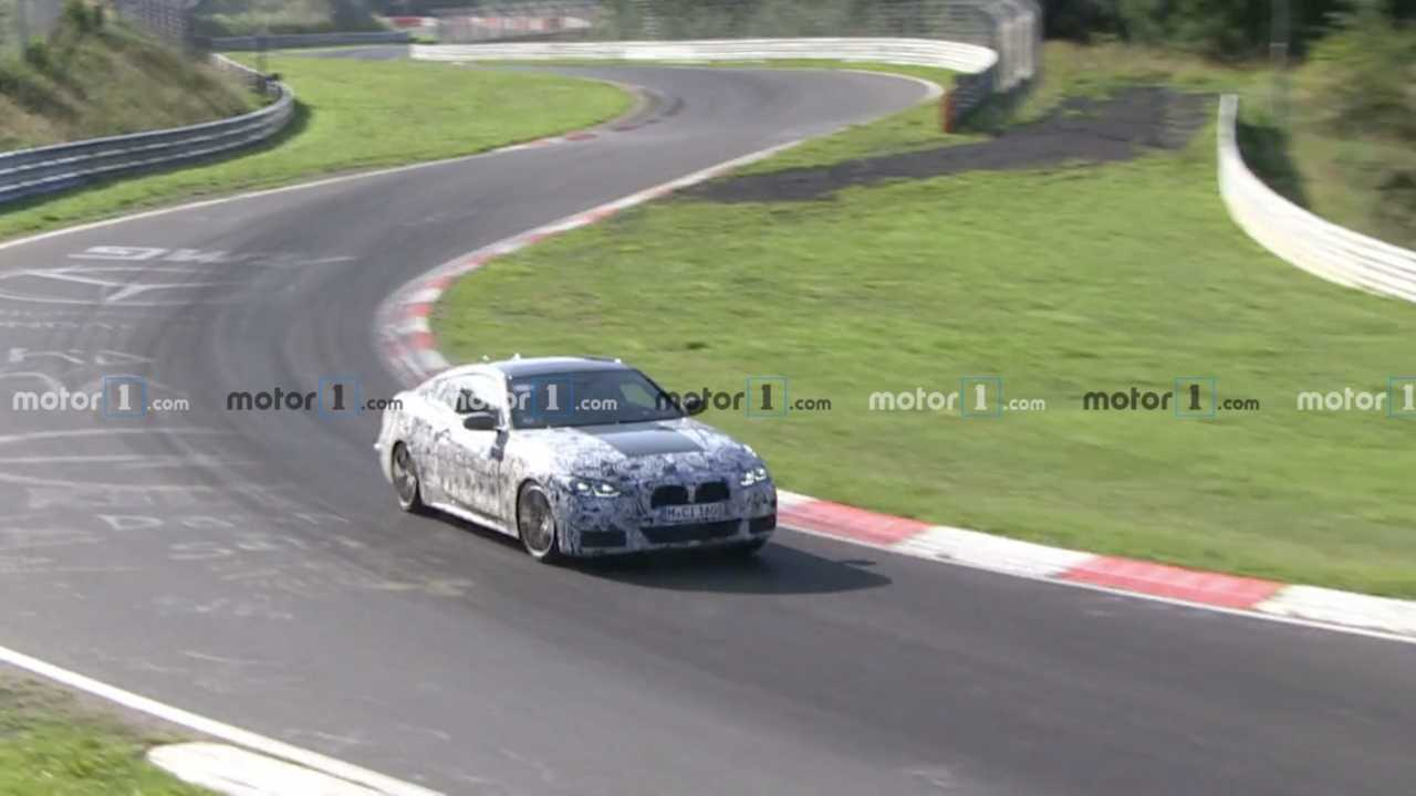 BMW 4 Series Spy Video