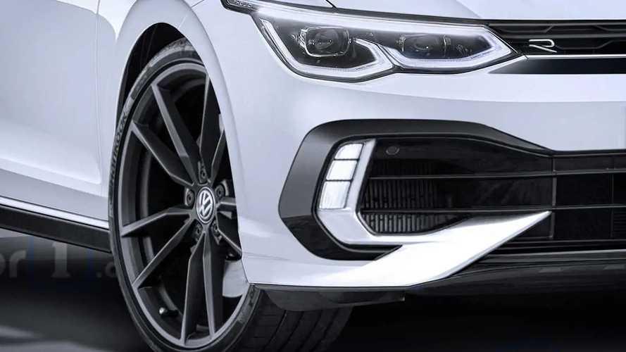 2021 VW Golf R rendering