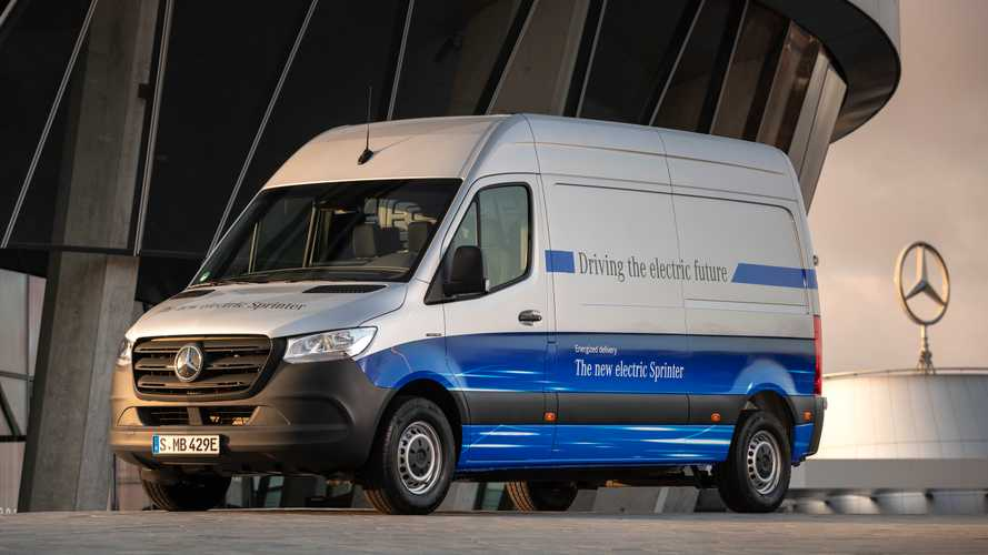 Mercedes-Benz eSprinter debuts as electric cargo hauler