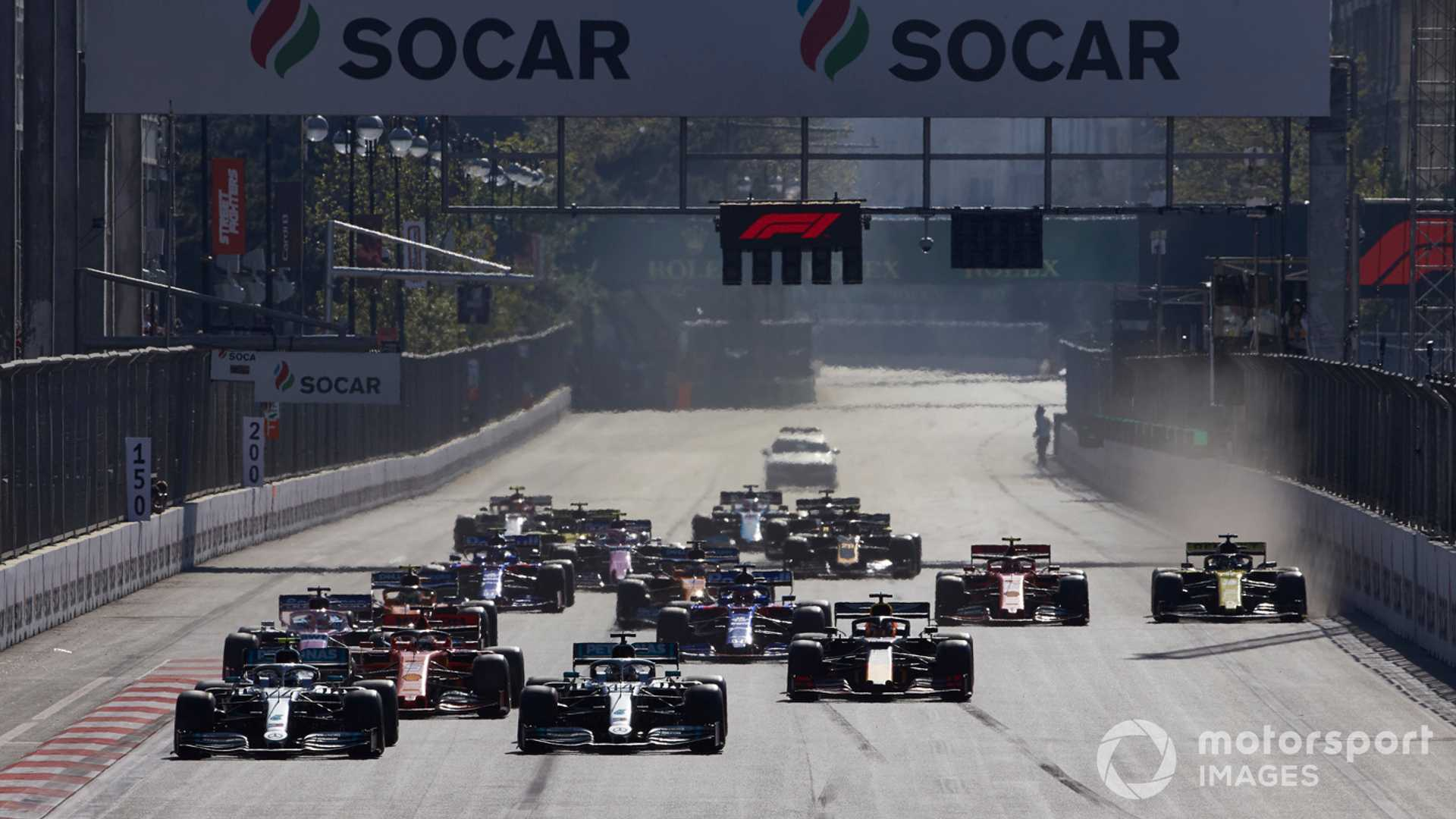 Azerbaijan GP claims $500m boost from hosting F1 race
