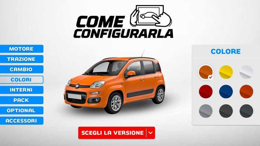 Fiat Panda, come configurarla scegliendo la versione meno costosa