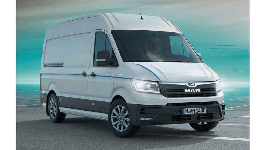 DPD UK Orders 100 MAN eTGE Vans