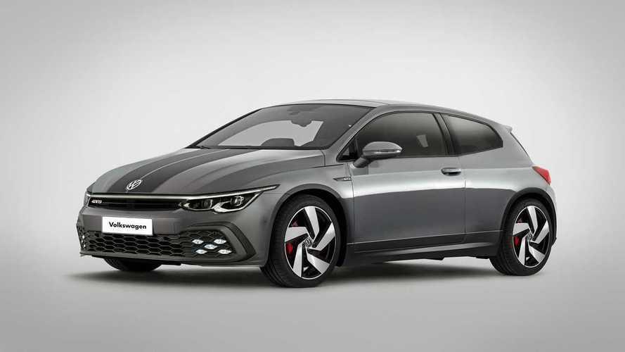 ¿Cómo sería el Volkswagen Scirocco con el diseño del Golf GTI 2020?