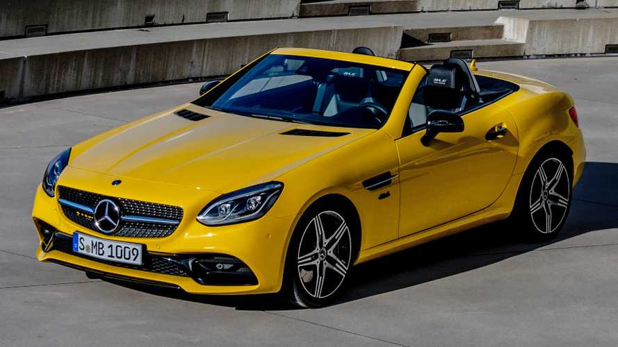 Grab the last of the Mercedes-Benz SLCs for £37,120