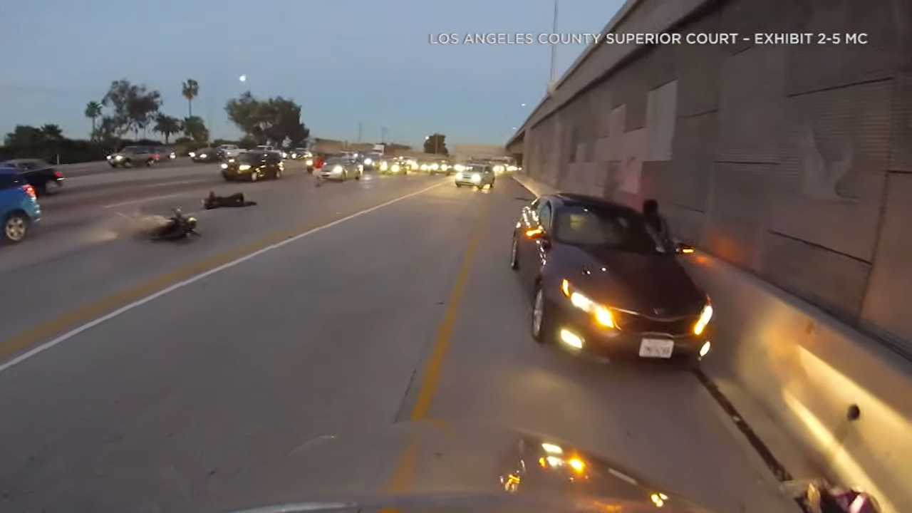 LA Motorcyclist Awarded $21.5M After Crash