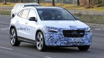 2021 Mercedes GLA last spy photos