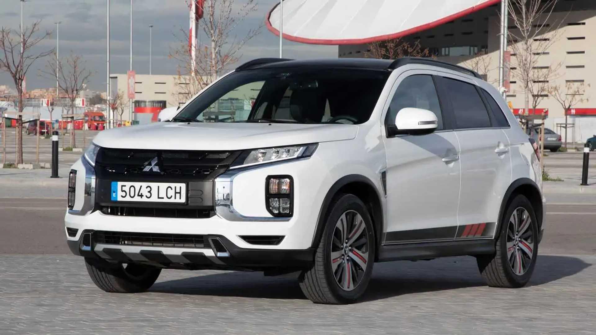 2020 Mitsubishi Asx Interior