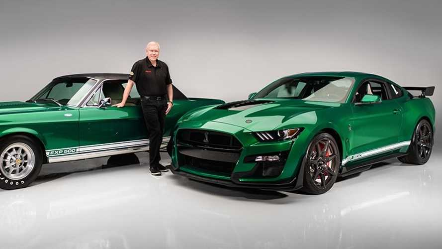 First 2020 Shelby GT500 is a nod to 1968 'Green Hornet' prototype