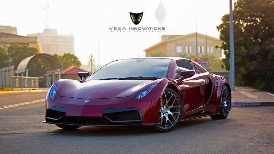 Vega EVX, el primer superdeportivo eléctrico ¡de Sri Lanka!