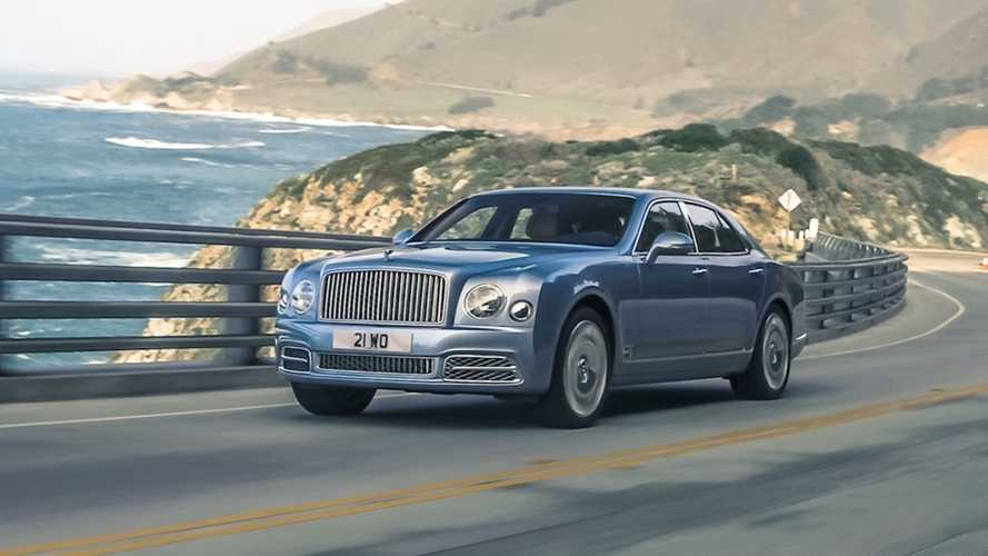 Bentley celebrates 10 years of Mulsanne with new video