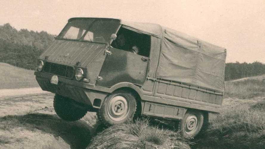 Skoda type 998 Agromobile, poteva essere il concorrente dell'Unimog