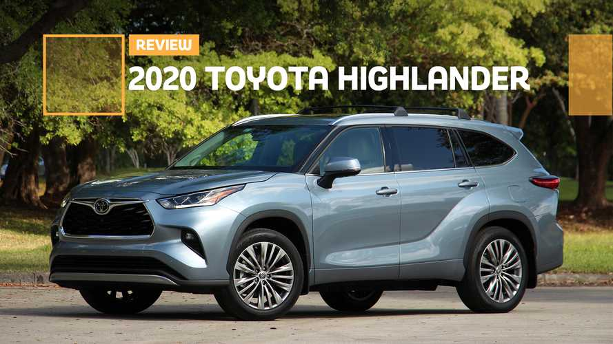 2020 Toyota Highlander Platinum Review: Middle Of The Pack