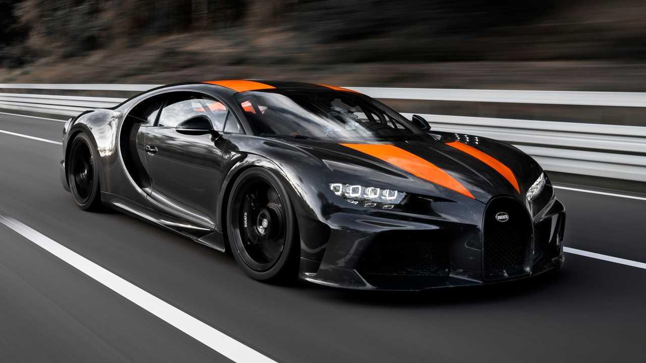 8. Bugatti Chiron Super Sport 300+
