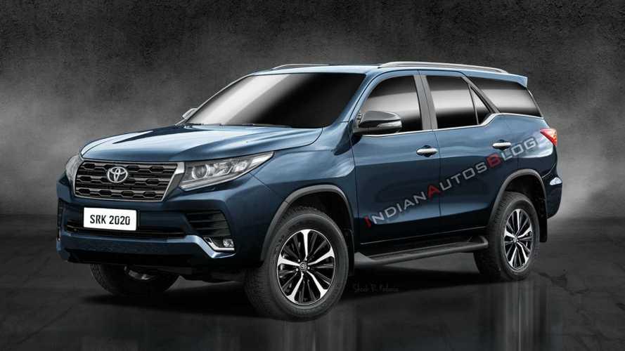Projeção: Novo Toyota SW4 2021 terá design do Land Cruiser Prado