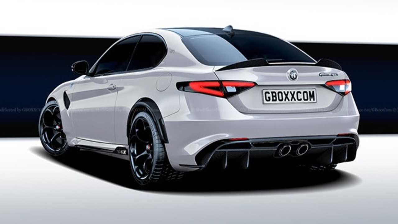 Alfa Romeo Giulia Gta Coupe Rendering Needs To Happen For Real