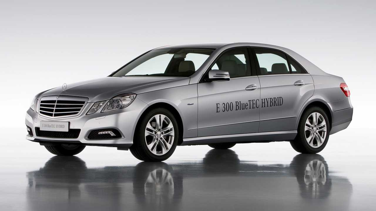 Mercedes-Benz E 300 BlueTEC Hybrid - 2012