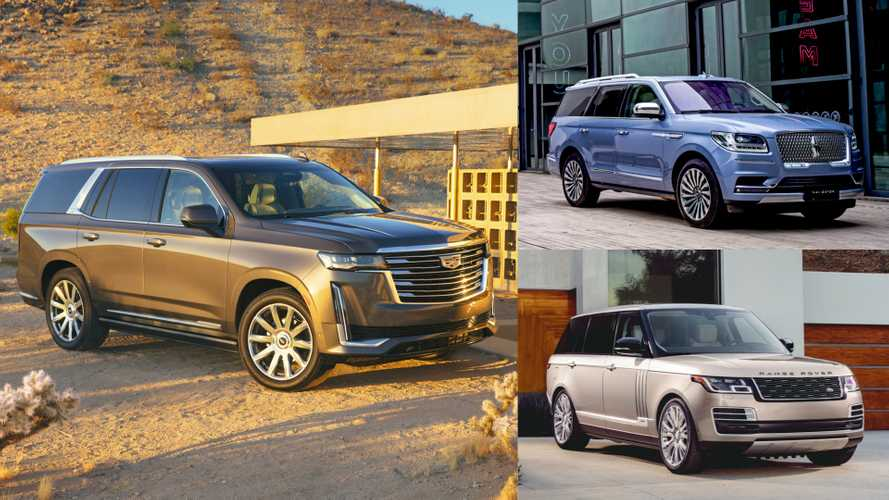2021 Cadillac Escalade vs. Navigator, GLS, X7, Range Rover