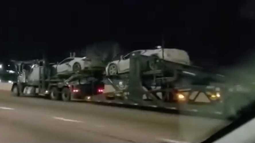 Chevrolet Corvette Z06 Possibly Spied On Video