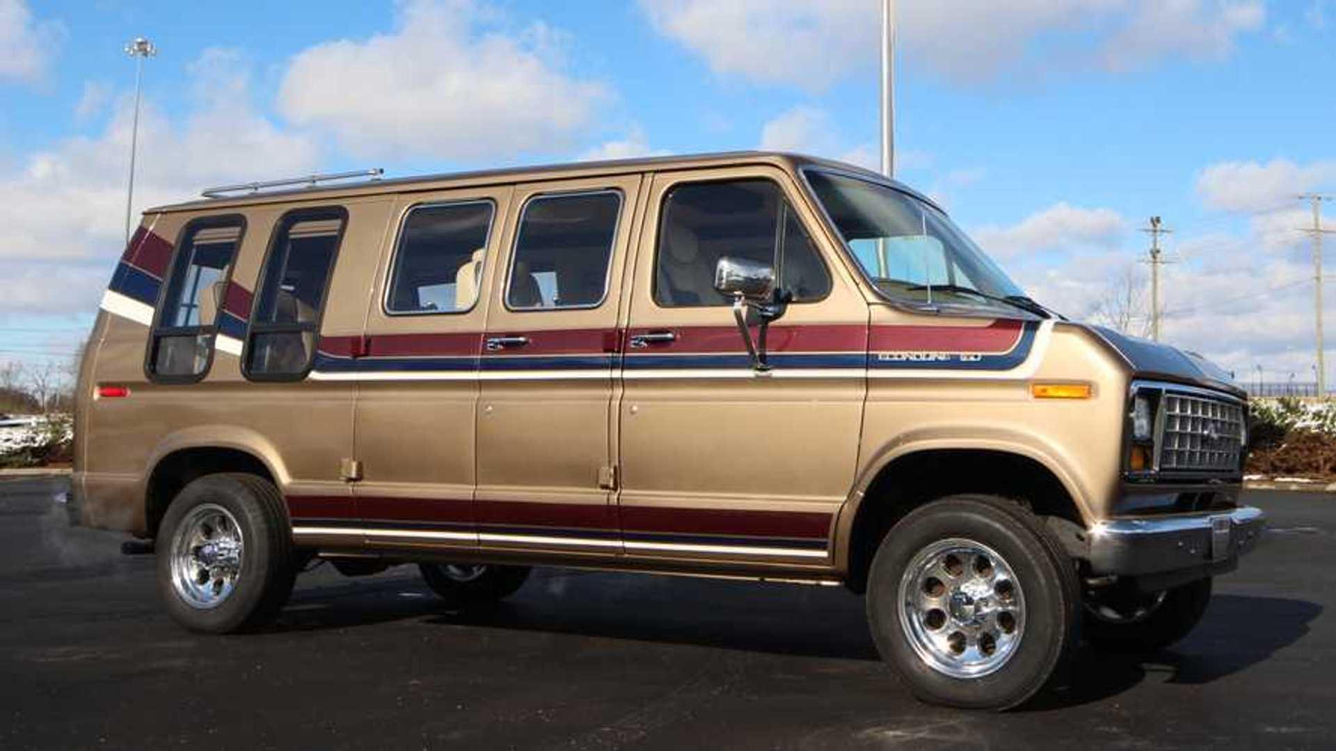 Old Ford Conversion Van