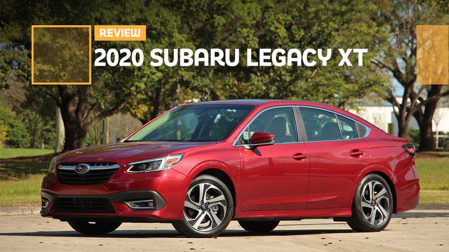 2020 Subaru Legacy XT Review: Better Beneath The Surface