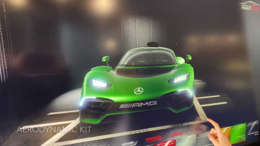 Mercedes-AMG One spec lounge