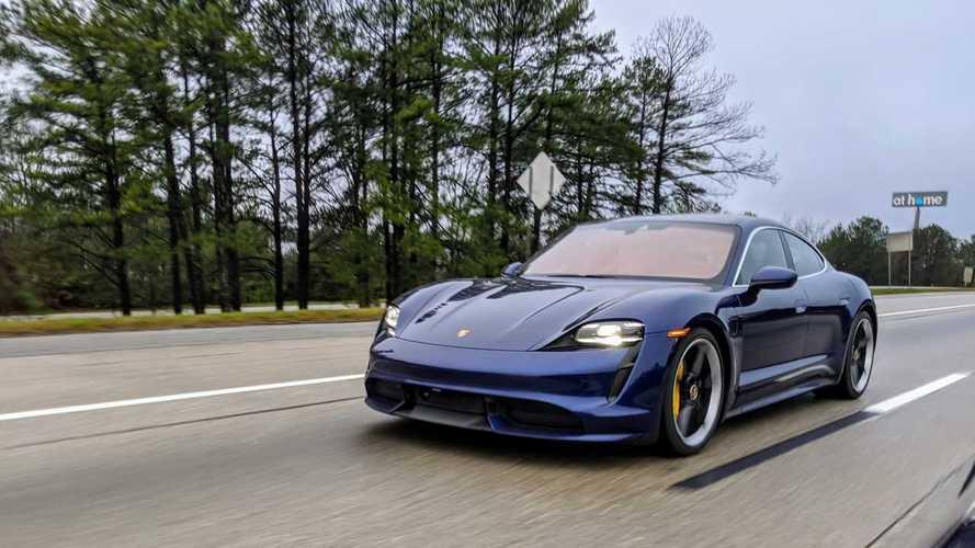 La Porsche Taycan Turbo aurait une autonomie de 380 km d'après notre essai