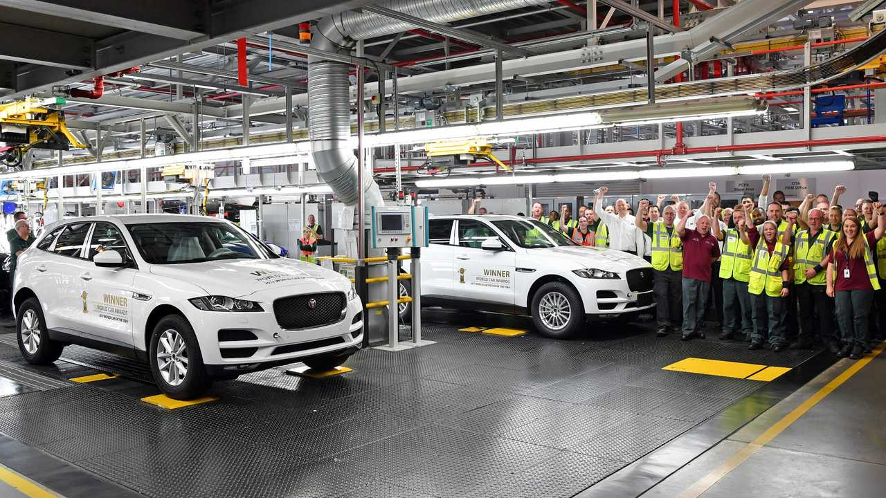 Jaguar F-Pace production at Solihull