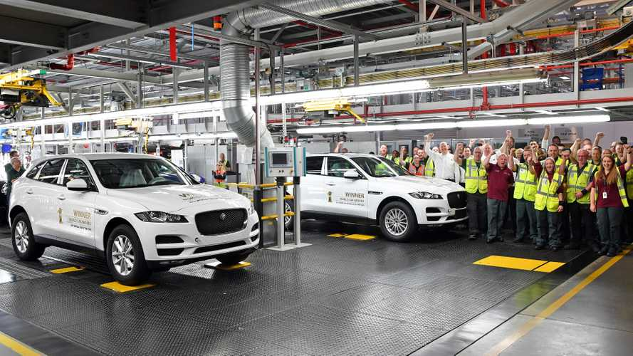 Coronavirus hampering Jaguar Land Rover supply chains