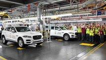 Jaguar F-Pace production at Solihull