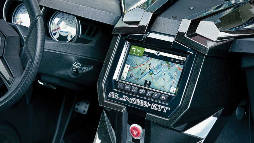 Polaris Announces Upgraded Ride Command System For Slingshot