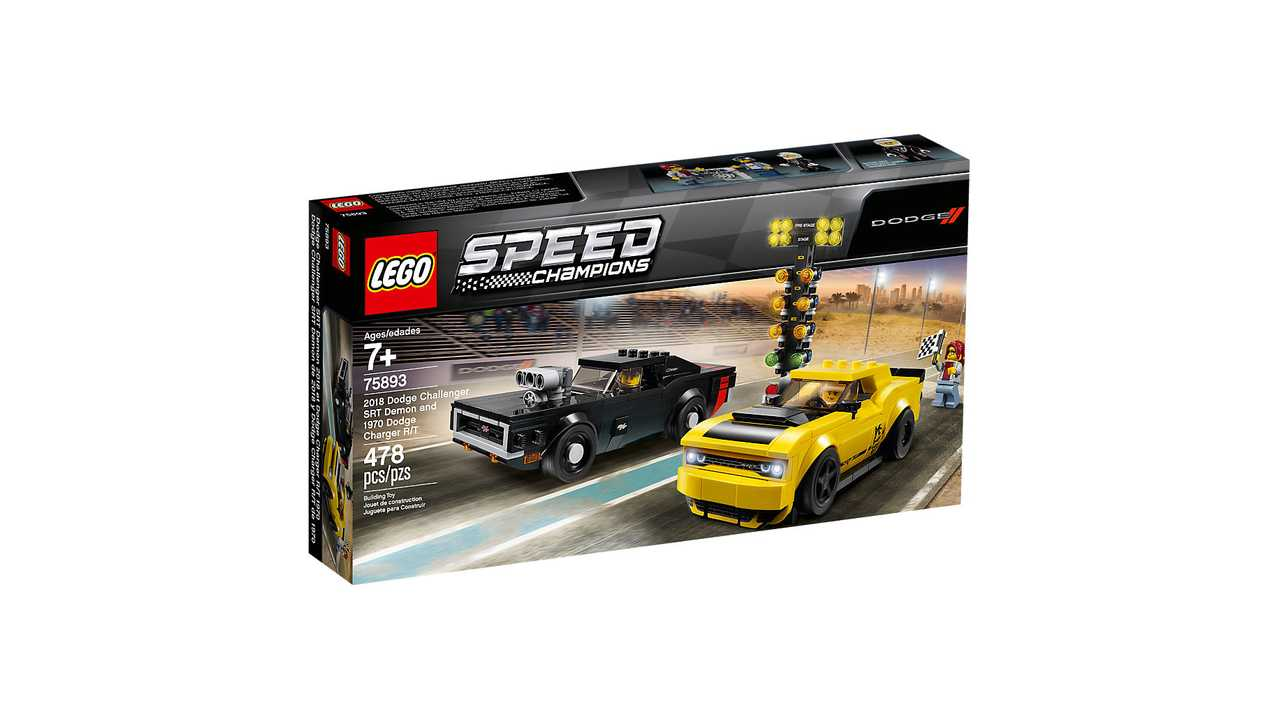 Lego Speed Champions Sets SennaF40And Include 2019 Demon QrBtxohdsC