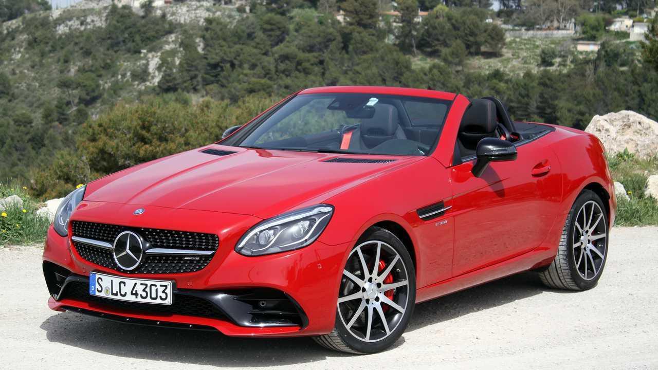 11. Mercedes-Benz SLC-Class: 1,692 units