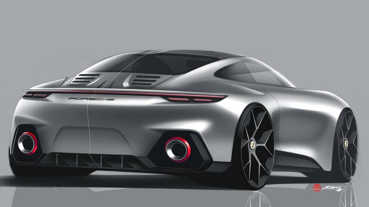 Porsche 911 Rendering By Alan Derosier