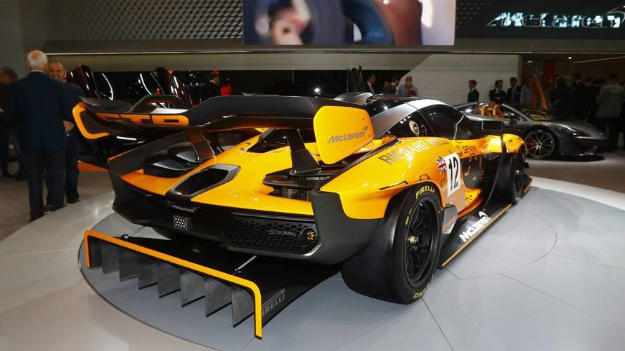 Mclaren Senna Gtr Will Produce 1 000kg Of Downforce