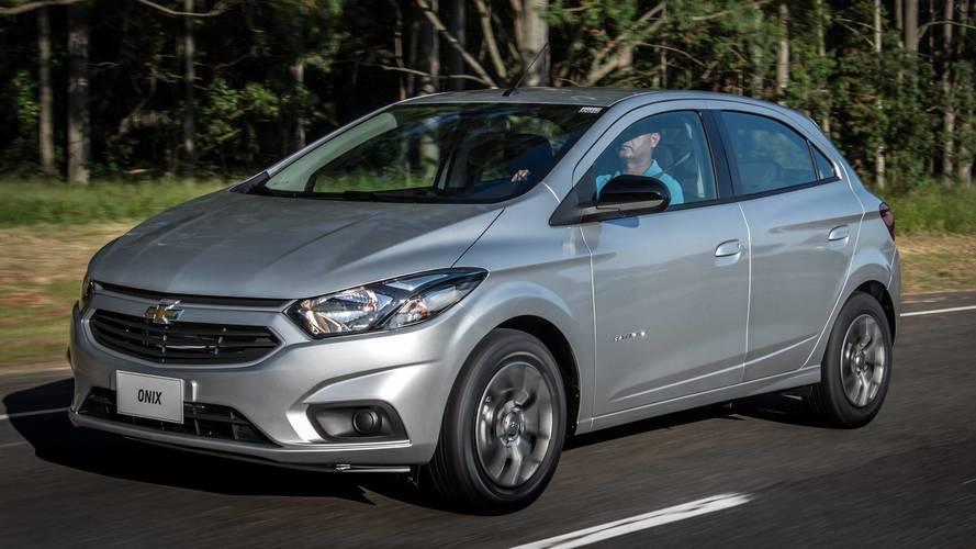 Vendas diretas em outubro: Chevrolet Onix ultrapassa a barreira dos 50%