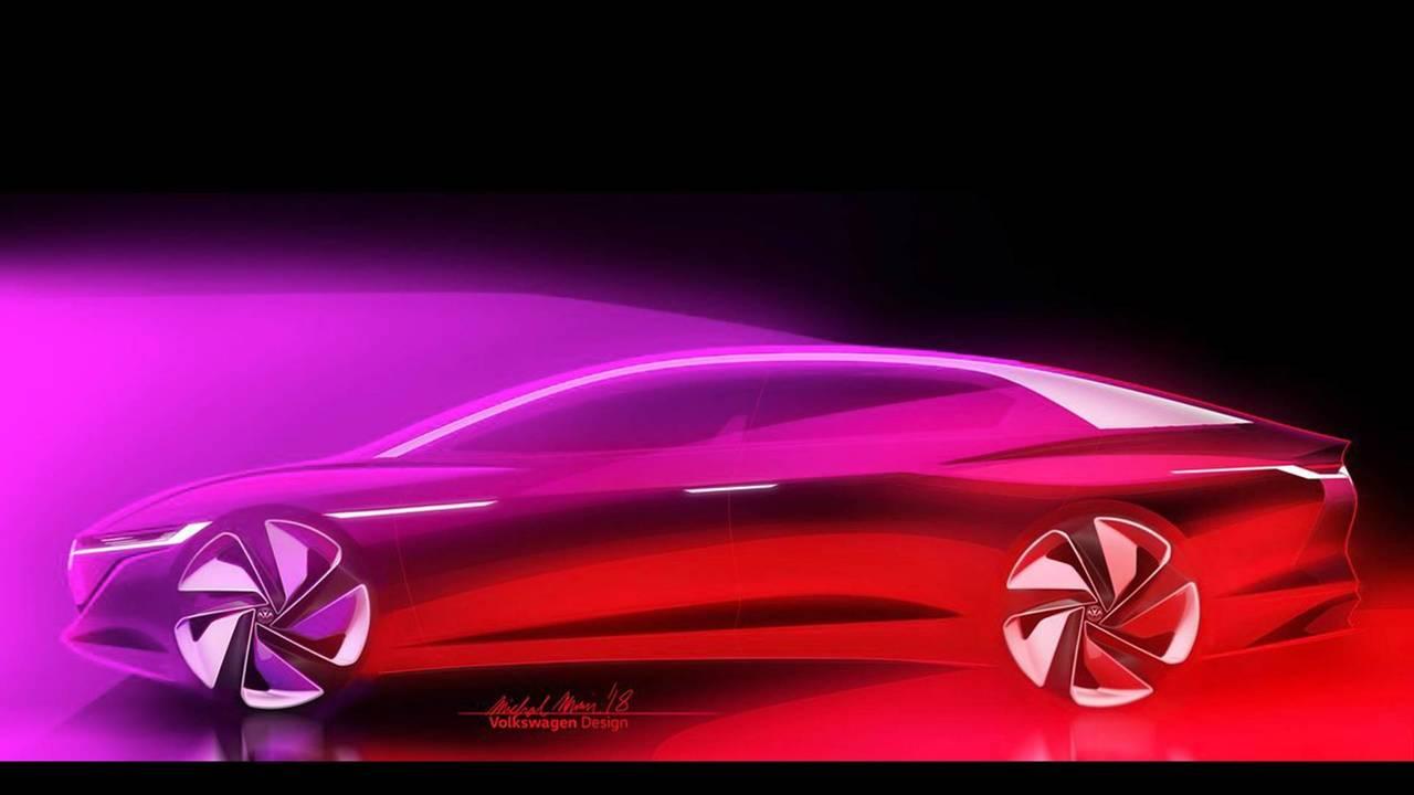 Volkswagen I.D. Vizzion konsepti teaser