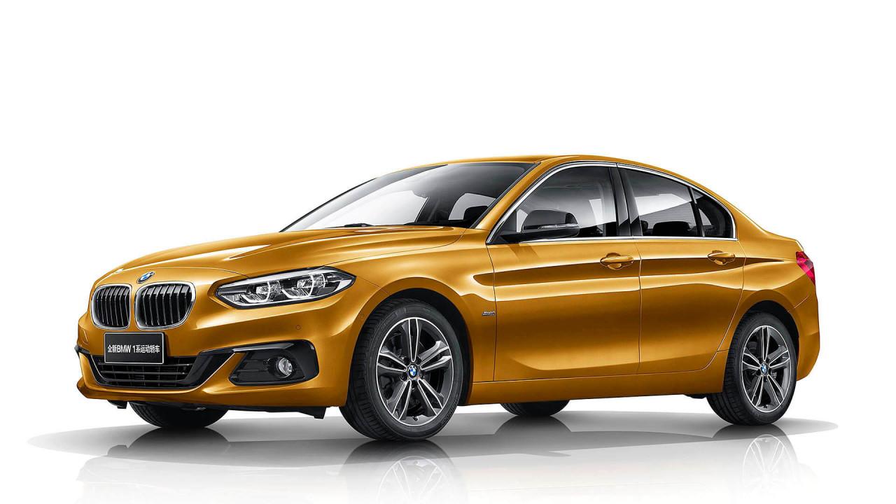 BMW 1er Stufenheck