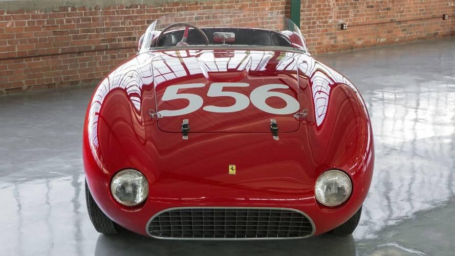 Ferrari 166 MM Spider, a subasta