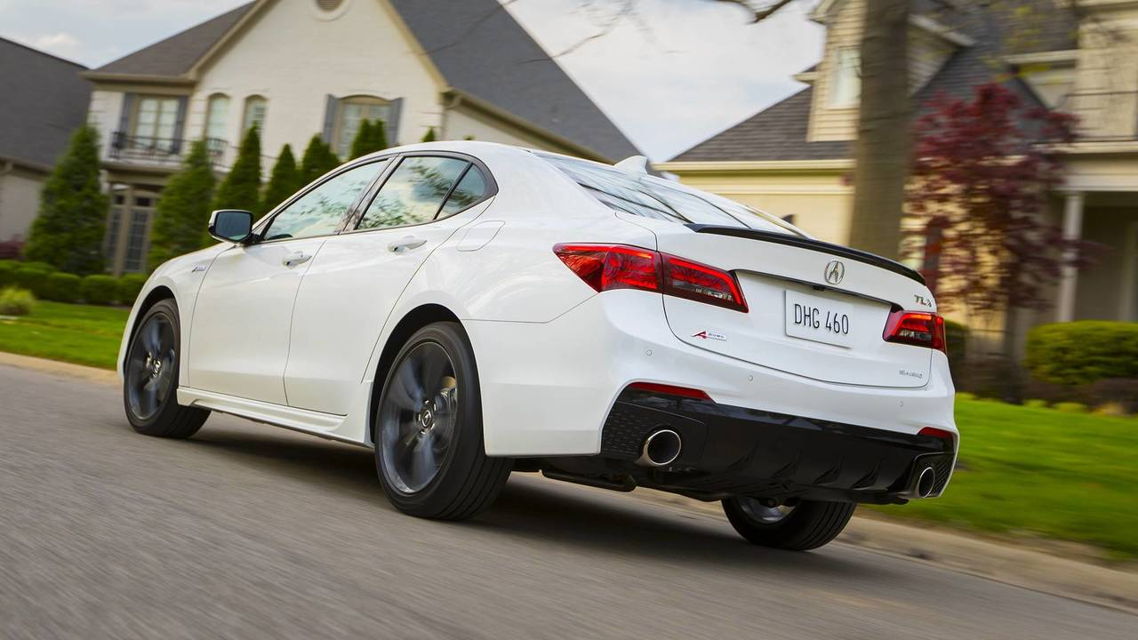 2019 Acura Tlx Expands A Spec Trim To Four Cylinder Models