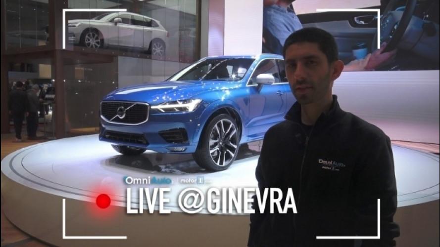 Salone di Ginevra, Volvo XC60: il volto elegante del SUV [VIDEO]