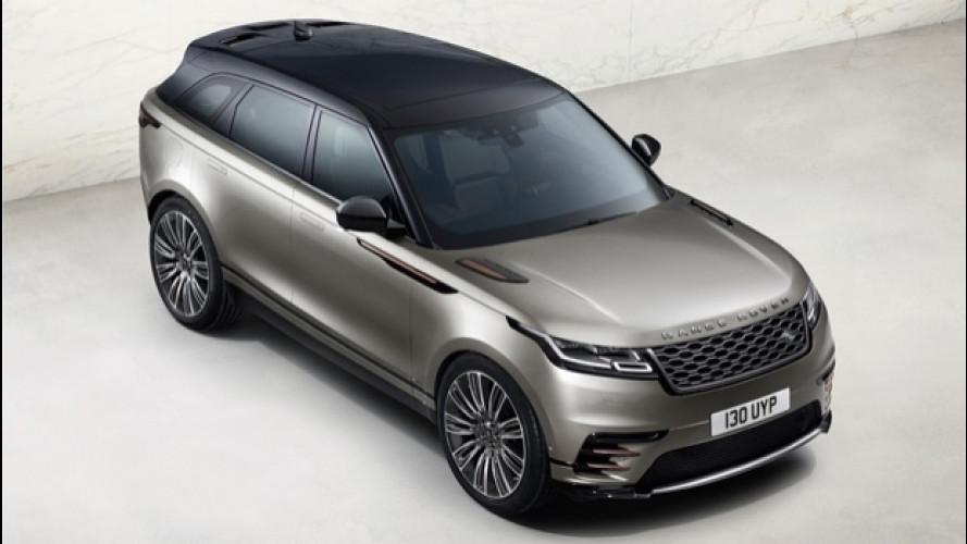 Range Rover Velar, il lusso sta nel mezzo