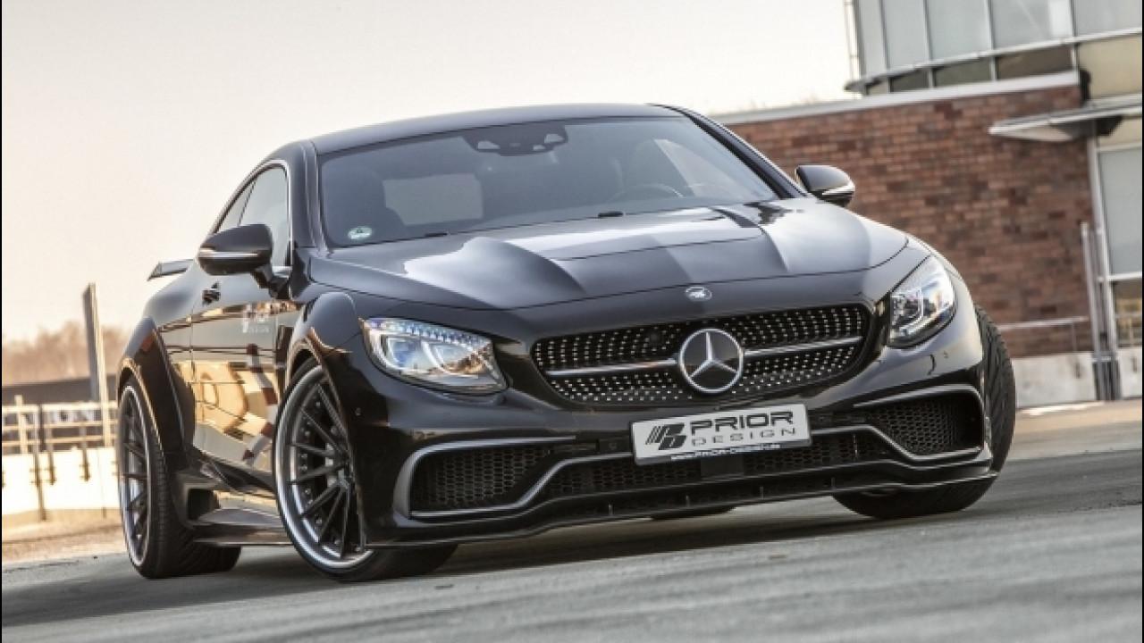 [Copertina] - Mercedes Classe S coupé by Prior Design, benvenuta arroganza