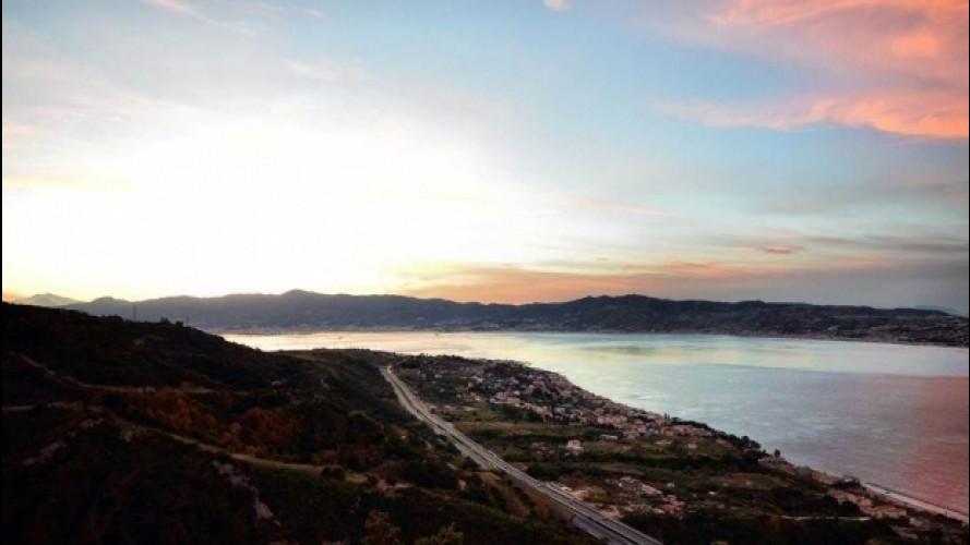 Autostrada del Mediterraneo, come