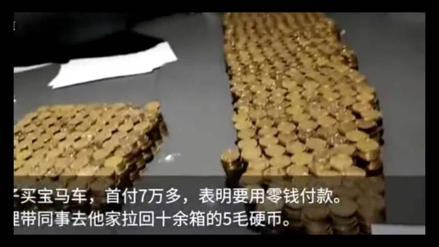 Chinese Businessman Buys BMW With $11k Down Payment – In Coins