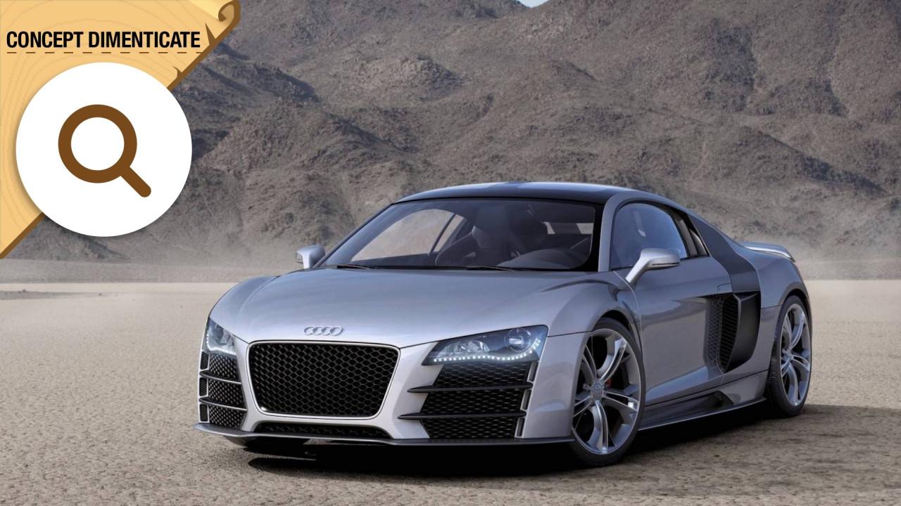 [Copertina] - Audi R8 V12 TDI, supercar dell'altro mondo