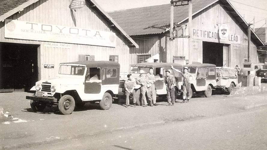 #TBT - Toyota faz 60 anos de Brasil com histórico marcado pela robustez