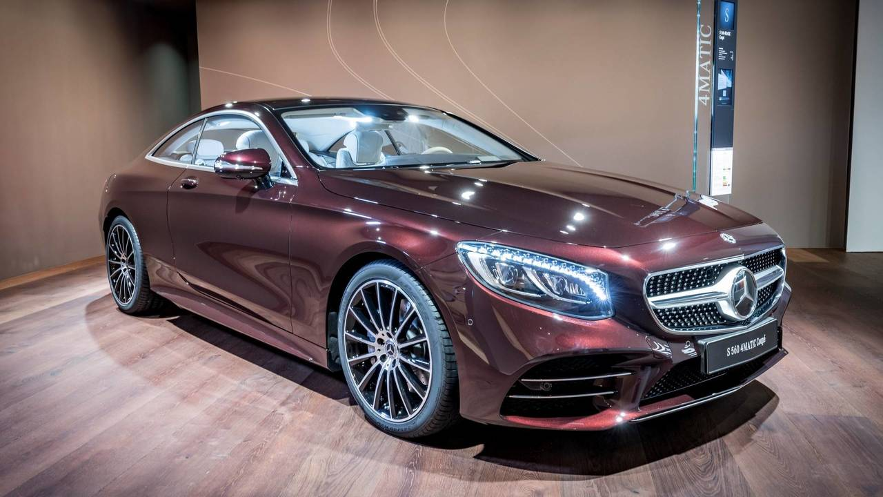 Mercedes S-Class Coupe Exclusive Edition