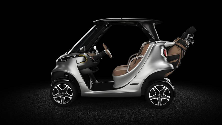 Hit The Links In Style With The Mercedes Garia Golf Cart Curved Golf Cart on golf players, golf accessories, golf buggy, golf girls, golf tools, golf machine, golf hitting nets, golf card, golf words, golf games, golf trolley, golf handicap, golf cartoons,